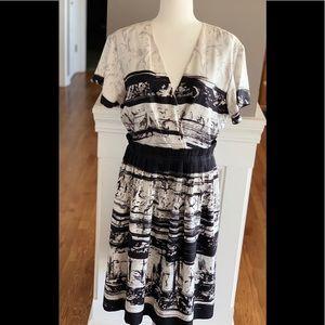 Women's Classique Entier silk dress size 12